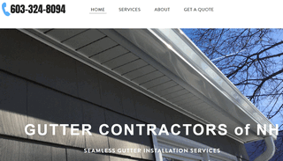 Gutter Installation NH