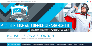 House and office clearance in London