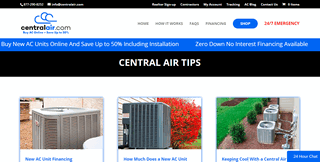 Central Air Tips