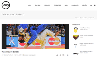 comprar tatami judo