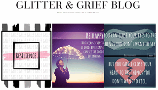 Glitter and Grief Blog