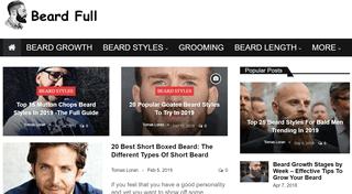 Beard Full | The Best Beard Styles of All Time