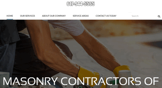 Masonry Contractors South Shore MA
