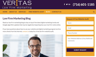 Veritas Law Firm Marketing Blog
