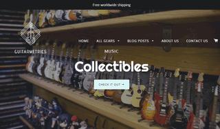 Guitarmetrics- Guitar Gears and Guitar Blog.