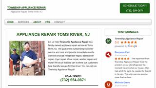 Township Appliance Repair