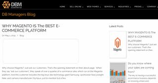 Ecommerce Set-up and Management Blog