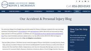 Kansas City Personal Injury and Car Accident Lawyer Blog