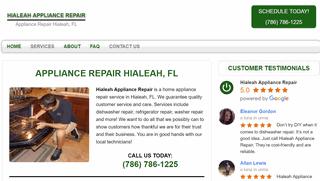 Hialeah Appliance Repair