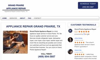 Grand Prairie Appliance Repair