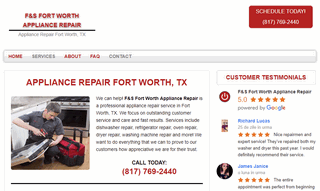 F&S Fort Worth Appliance Repair