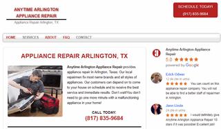 Anytime Arlington Appliance Repair