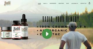 Radix Remedies Premium CBD
