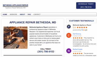 Bethesda Appliance Repair