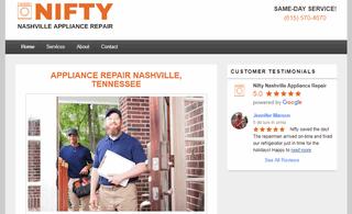 Nifty Nashville Appliance Repair