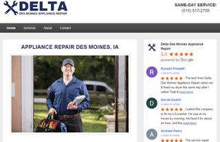 Delta Des Moines Appliance Repair
