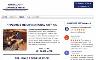 National City Appliance Repair