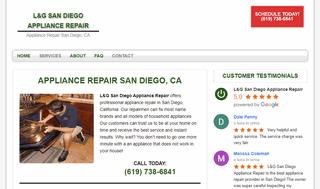 L&G San Diego Appliance Repair