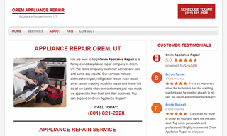 Orem Appliance Repair