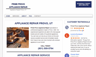 Prime Provo Appliance Repair