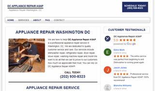 DC Appliance Repair ASAP