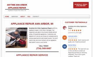 Anytime Ann Arbor Appliance Repair