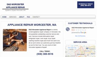 D&D Worcester Appliance Repair
