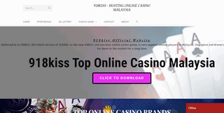 The First 918kiss Online Gambling Paltform