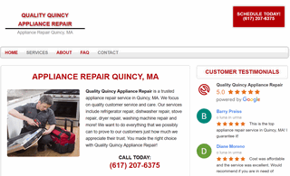 Quality Quincy Appliance Repair