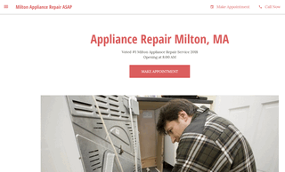 Milton Appliance Repair ASAP