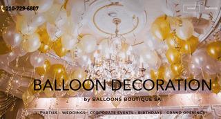 Balloon Arch Decoration Pros San Antonio