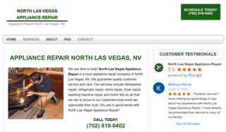 North Las Vegas Appliance Repair