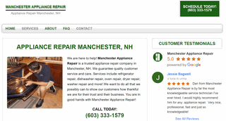 Manchester Appliance Repair
