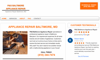 P&G Baltimore Appliance Repair