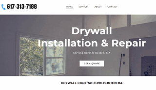 Drywall and Plaster Contractors Boston MA