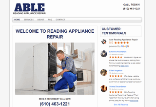 Able Reading Appliance Repair