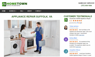 Hometown Suffolk Appliance Repair