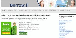 Halvin Laina: Hae Halvin Laina Netistä Heti Tilille 10-70.000€!