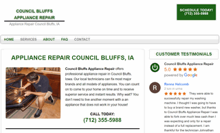 Council Bluffs Appliance Repair