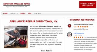Smithtown Appliance Repair