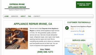 Express Irvine Appliance Repair