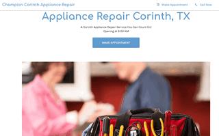 Champion Corinth Appliance Repair