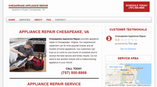 Chesapeake Appliance Repair