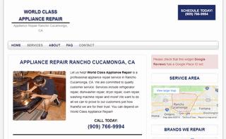 World Class Appliance Repair
