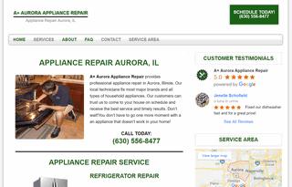 A+ Aurora Appliance Repair