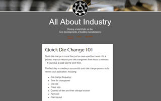 All About Industry