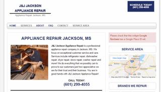 J&J Jackson Appliance Repair