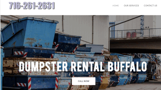 dumpster rental Buffalo