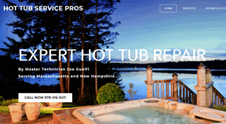 Hot Tub Repair Service NH