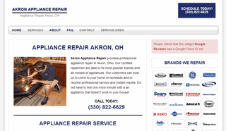Akron Appliance Repair